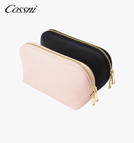 Hot selling multi-function leather travel cosmetic bag travel organizer bag makeup bag