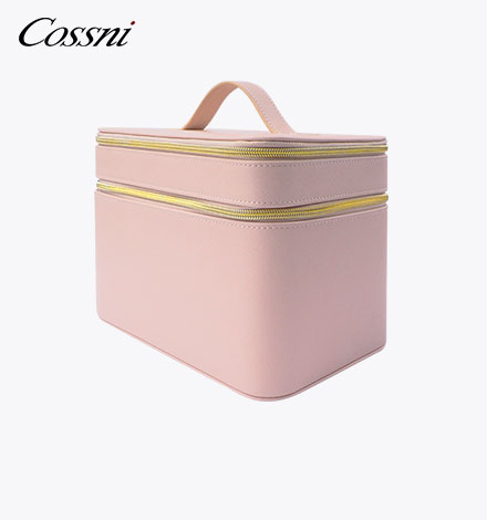 Fashion Gossni Lady Design Patent Leather Functional Cosmetic Bag