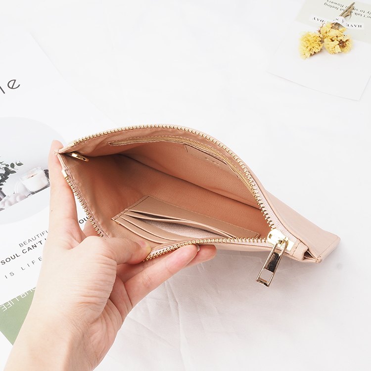 Ladies leather clutches pouches vegan pu leather clutch bag