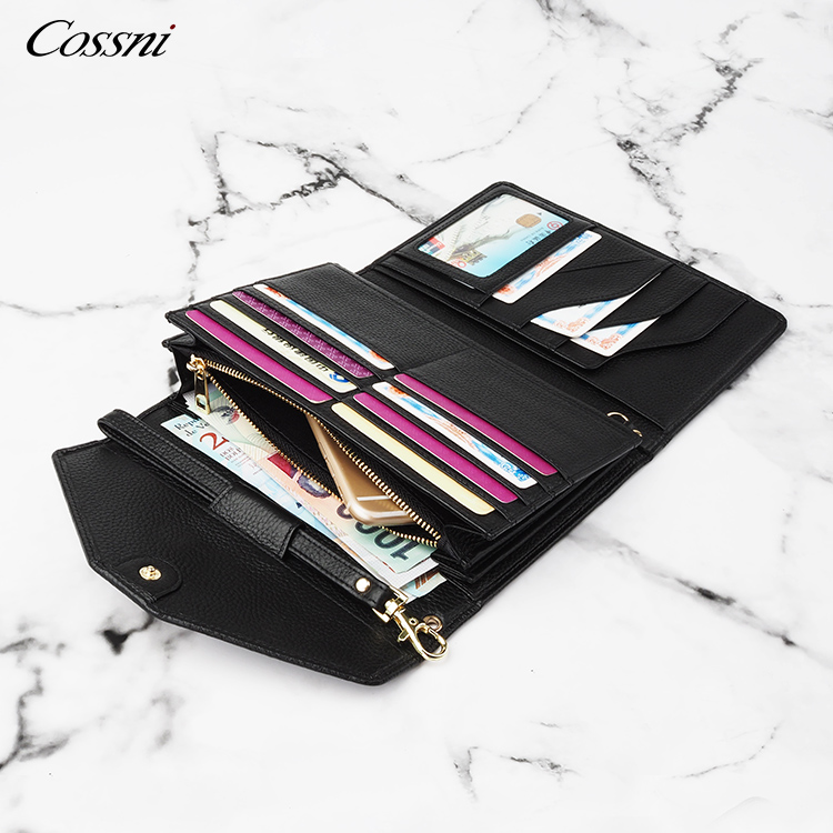 2020 trend new men's clear clutch bag large-capacity business casual fashion trend multi-card handbag multi-pocket men bag